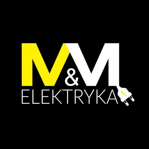 M&M Elektryka - Elektryk - Instalacje elektryczne - Logo