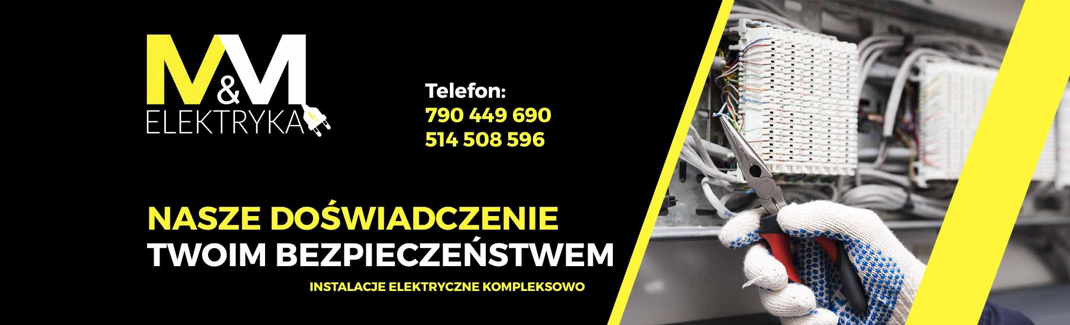 M&M Elektryka - Elektryk - Instalacje elektryczne